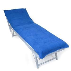 dyckhoff 0320042400 copertura chaise longue 400 blu 70 x 200 cm giardino e giardinaggio. Black Bedroom Furniture Sets. Home Design Ideas