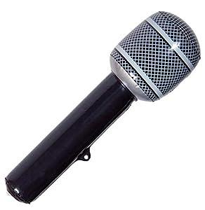 CREATIVE Partido inflable Micrófono Negro