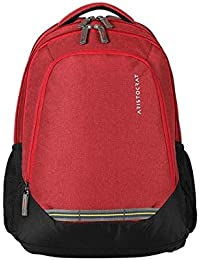Aristocrat Gusto Fabric 30 Ltrs Red Laptop Backpack (LPBPGUS1RED)