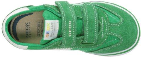 Geox B Kiwi Boy D, Sneaker Bambino Multicolore(green/white)