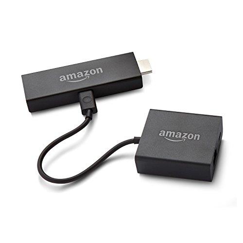 Amazon Ethernetadapter für Fire TV und Fire TV Stick mit Alexa-Sprachfernbedienung (nur 2017 Modelle)