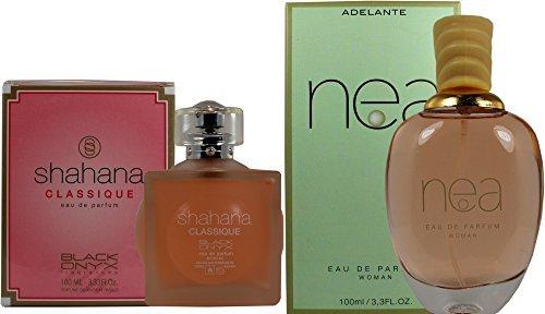 d5f0668bb Set de dos Perfumes franceses de alta calidad Para Mujer Shahana Classique.