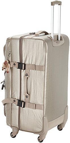 Compare Prices for Kipling – CYRAH L – 101 Litres – Spinner – Metallic Pewter – (Gold) Reviews