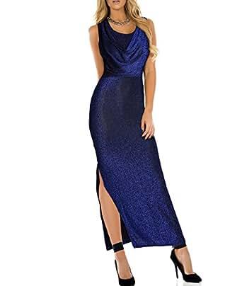 Kaxidy sexy vestito aderente vestiti lungo donna abiti da for Vestiti amazon