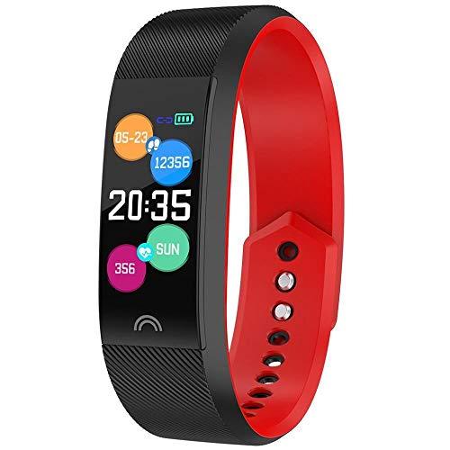 HEATLE Uhr ansehen Gute Qualität Intelligentes Armband Sport Fitness-aktivität Herzfrequenz-Tracker Blutdruck-Armband (1PC, Schwarz)