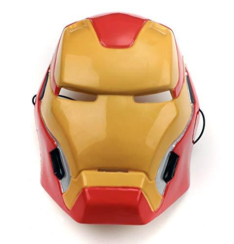 Máscara Iron Man SuperHéroe Hombre Niño Talla única