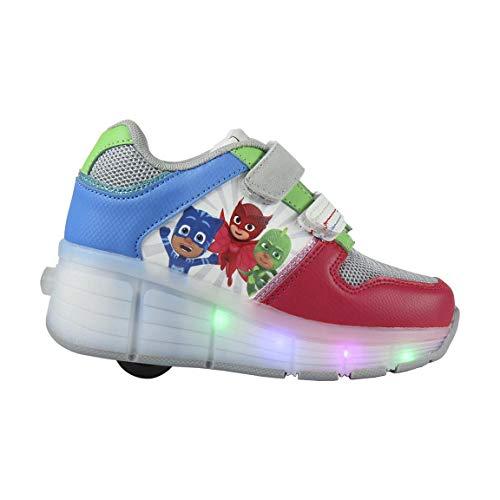 P J Masks | Trainers Sneakers Light Up Roller Shoes | Fantastic Shoes | Roller-Skate Design | Gekko | Owlette | Catboy |