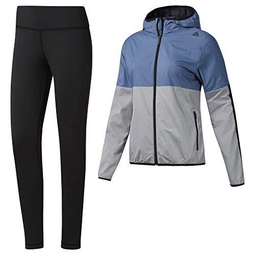 Reebok TE TS Sport Chándal, Mujer, Azul (Blue Slate), M