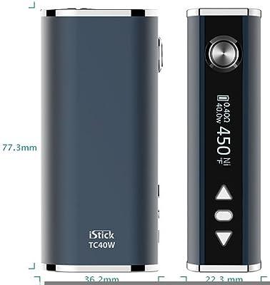 Eleaf iStick TC40W 2600 mAh SCHWARZ Kit / Komplettset inkl. USB Kabel und eGo Adapter von Eleaf