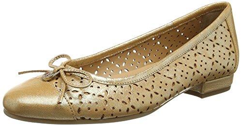 Van Dal Women Wentworth Closed-Toe Flats, Gold (Bronze), 5.5 UK 38.5 EU