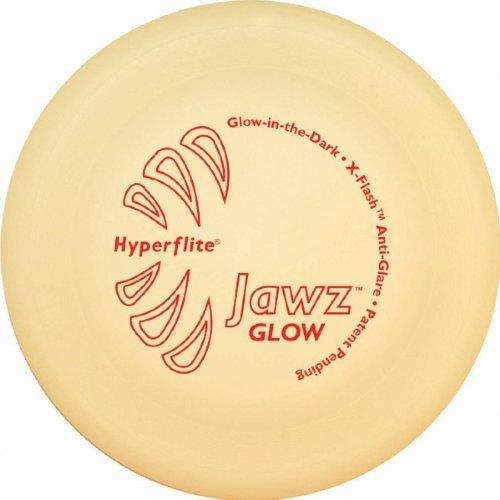 Hyperflite K10 Jawz Hunde Frisbee NIGHTGLOW X-FLASH ANTI GLANZ