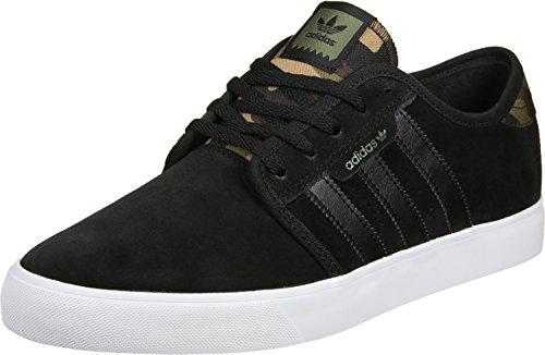 Herren Skateschuh adidas Skateboarding Seeley Skateschuhe schwarz braun oliv