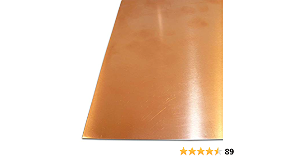 20 x 30 cm SF-Cu bis Gr/ö/ße 200 x 300 mm B/&T Metall Kupferblech 0,8 mm stark Qualit/ät nach DIN EN 1172 CUI-DHP-CW024A R240 halbhart
