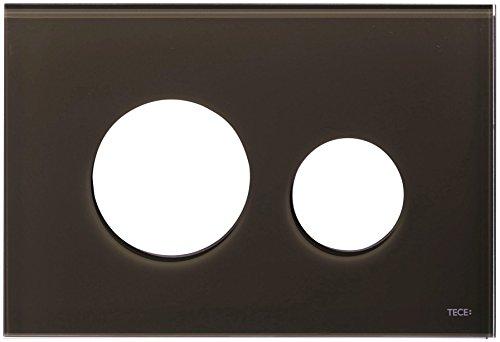 Tece Teceloop-Blende WC-Platte Nr. 9240678 Glas kaffeebraun, 9240678