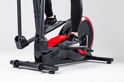 Hop-Sport Elliptical Crosstrainer HS-050C FROST Ellipsentrainer Pulsmessung Schwungmasse 9kg - 4