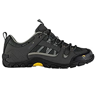 Gelert Mens Rocky Walking Shoes Waterproof Lace Up Padded 6