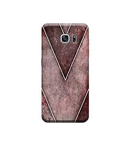 Ebby Premium Designer Back Cover for Samsung S7 Edge (Designer Case)