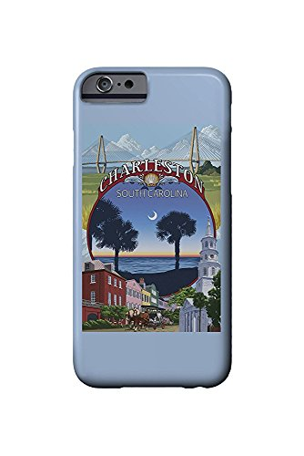 Charleston, South Carolina - Town Views (iPhone 6 Cell Phone Case, Slim Barely There)