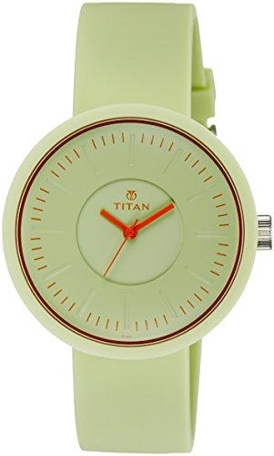 41WnQ%2BN5t4L - Titan 9953PP04J Youth Green Women watch