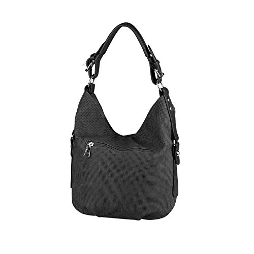 OBC Only-Beautiful-Couture, Borsa tote donna Nero Schwarz V1 ca.: 33x30x12 cm (BxHxT) nero