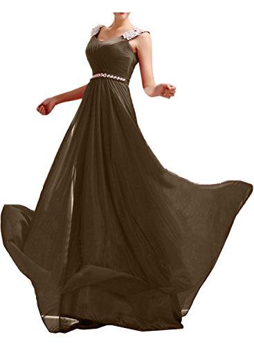 Missdressy -  Vestito  - linea ad a - Donna Cioccolato