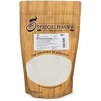 Bio Malta de cebada para hornear de alta calidad (ligera) - aditivos libres y enzimáticamente activos - harina de malta de primera clase para pan y panecillos crujientes - Contenido: 1 kg de malta de cebada ecológica.