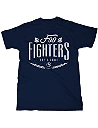 Foo Fighters 100% Organic T-shirt bleu foncé