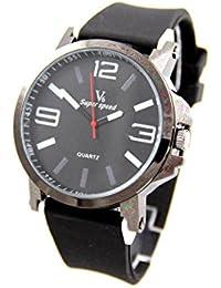 V6 Montre Homme MONTRE2798 - Reloj , correa de silicona color negro