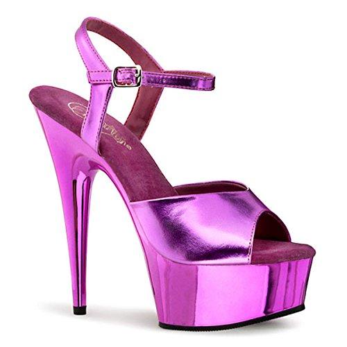 Sandale fuchsia-metallic Pink