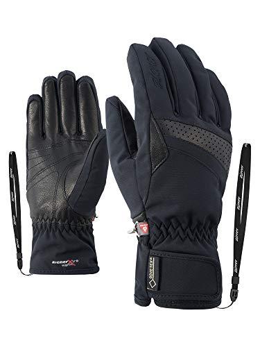 Ziener Damen KATARA GTX PR lady glove Ski-Handschuhe / Wintersport | wasserdicht, atmungsaktiv, sehr warm, schwarz (black), 7.5