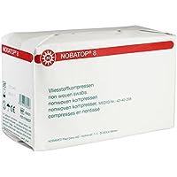 NOBATOP 8 Unsterile Vliesstoffkompressen 4-lagig, Größe:10.0 cm x 20.0 cm (100 St.) preisvergleich bei billige-tabletten.eu