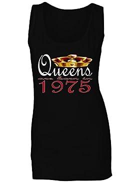 Nuevas reinas de diseño artístico nacen en 1975 camiseta sin mangas mujer b711ft