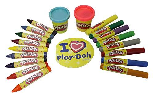 D'Arpeje - CPDO009 - Kit de Loisir Créatif - Play Doh - Ma Première Boîte de Coloriage