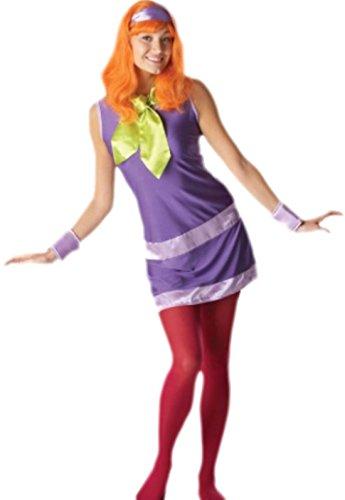 Erwachsene Daphne Kostüme (erdbeerloft - Damen Daphne, Scooby Doo Kostüm, L,)