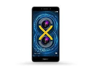 Honor 6X Pro Smartphone portable débloqué 4G (Ecran: 5,5 pouces - 64 Go - Double Nano-SIM - Android 6.0 Marshmallow) Gris
