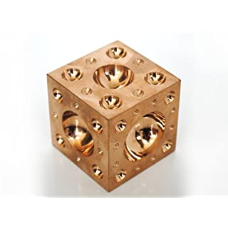 Proops Jewellers Solid Brass Doming Dapping Forming Block 2