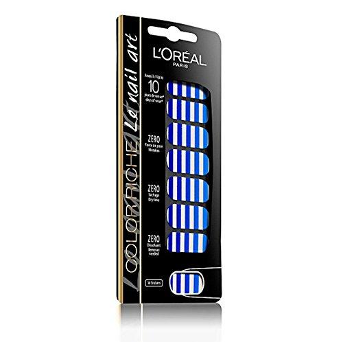 L 'Oréal Paris Color Riche Nail Art 5French Marinie–Sticker Nägel (blau, French Marinie)