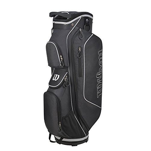 Wilson-Prostaff-Steel-Shafted-HDX-Irons-Graphite-Shafted-HDX-Woods-Super-Deluxe-Mens-Complete-Golf-Club-Set-Prostaff-BlackCharcoal-Cart-Bag-Mens-Right-Hand-New-For-2016-Limited-Edition-Only-available-