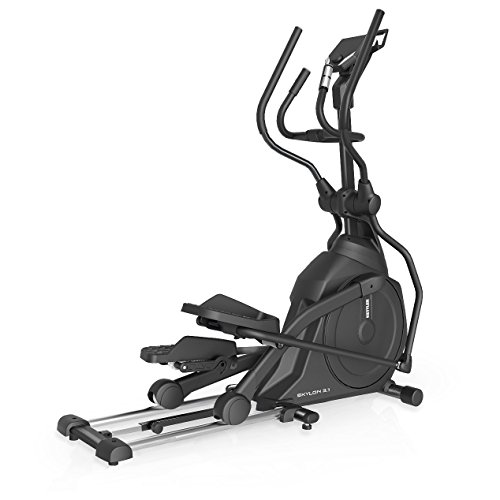 Kettler Skylon 3.1 Magnetic Cross Trainer Black, Silver - Cross-Trainer (Magnetic Cross Trainer, 130 kg, Home, Drive Disk/Ribbed Belt, Black, Silver, 20 kg)