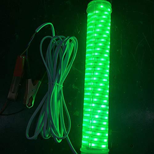 Berrose Fisch Licht 12V führte grünes Unterwasser Tauchboot Nachtfischen Unterwasser Tauchboot Nachtfischen Tackle Lampe