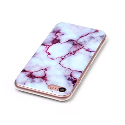 EKINHUI Case Cover Für Apple IPhone 6 6s Plus Case Marbling Texture Soft TPU Cover Slim Ultra Thin Anti-Kratzer Schock Absorption Schutzmaßnahmen zurück Deckung Shell ( Color : D ) I