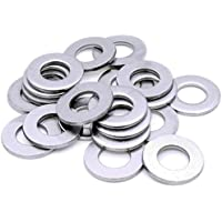 330 /'MIXED IN THE PACK/' FORM C FLAT WASHERS A2 STAINLESS STEEL M4 M5 M6 M8 M10