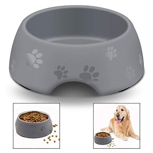 Xrten Rutschfeste Hundenapf,Melamin Futternapf für Hunde und Katzen,Haustier Fressnäpfe Wassernäpfe