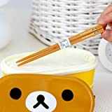 Double Layer Bento Lunch Box with Free Chopsticks