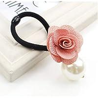 HSDDA - Accesorios para el Pelo, diseño de Rosa, Color Rosa