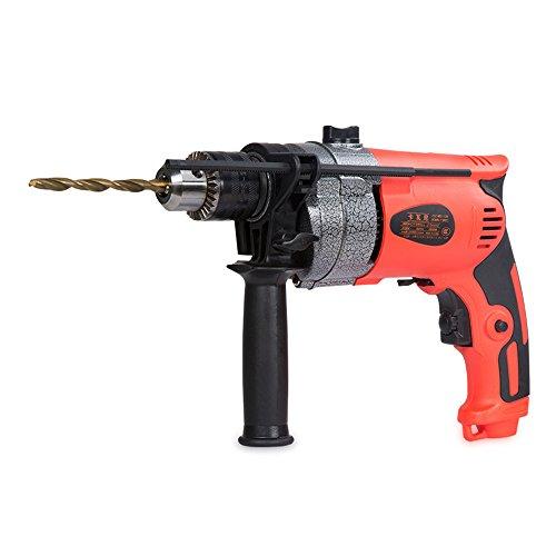 Slongda DIY Schlagbohrmaschine SLD-201, Tiefenanschlag, Zusatzhandgriff, Koffer (500 Watt, max. Bohr-Ø: Holz: 25 mm, Beton: 10 mm, Stahl: 8 mm)
