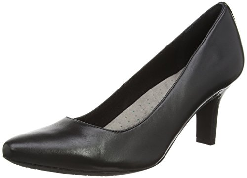 Rockport Damen Shasmeen Plain Pump Pumps Schwarz (Schwarz)