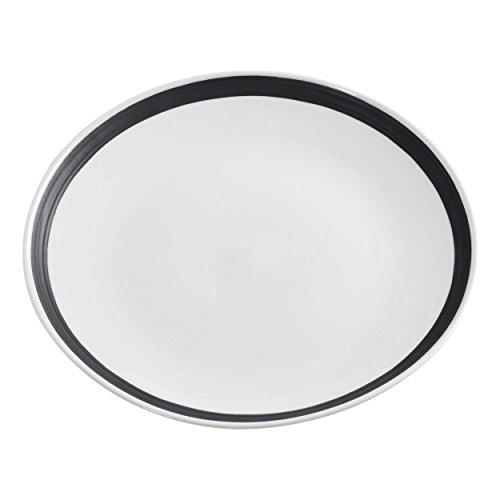 Assiette à gâteau Charlton D. 18 cm Blanc avec bord Porcelaine Maxwell & Williams