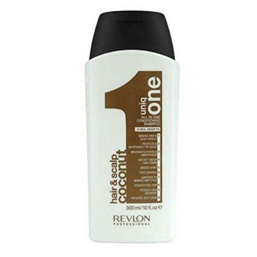 Revlon Uniq One Coconut Shampoo 300ml (Uniq Haar Kopfhaut One Und)