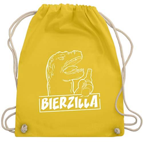 Halloween - Bierzilla - Unisize - Gelb - WM110 - Turnbeutel & Gym Bag
